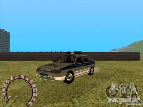Ваз 2114 russische Polizei für GTA San Andreas