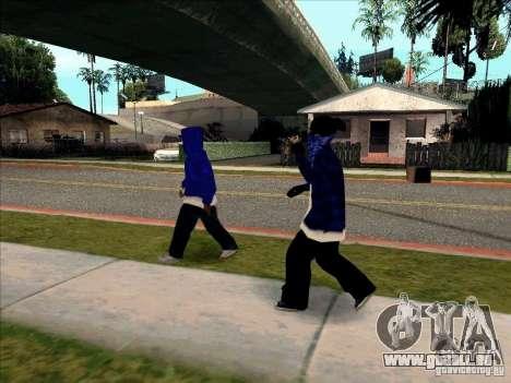 Crips Gang pour GTA San Andreas cinquième écran