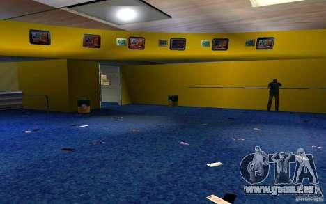 Nouveau bureau de Bukmejkerskaâ pour GTA San Andreas troisième écran