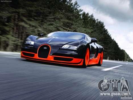 Écrans de chargement Bugatti Veyron pour GTA San Andreas deuxième écran