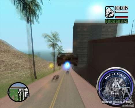 Tacho-2 für GTA San Andreas zweiten Screenshot