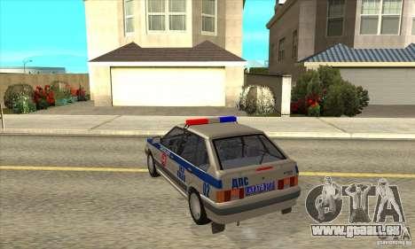 ВАЗ 2114-DPS für GTA San Andreas zurück linke Ansicht