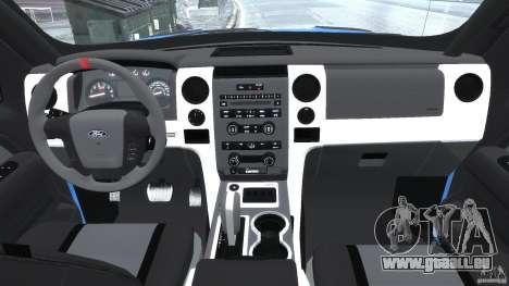 Ford F150 Racing Raptor XT 2011 pour GTA 4 est un droit