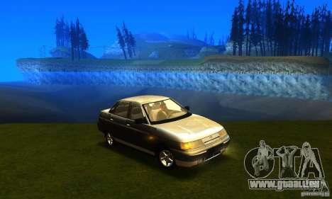LADA 21103 v2.0 pour GTA San Andreas sur la vue arrière gauche
