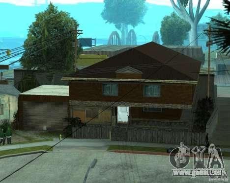 Nouvelle CJâ maison pour GTA San Andreas cinquième écran