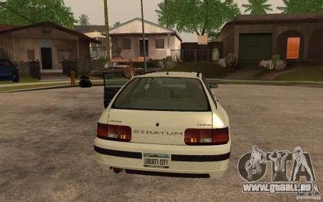 Schicht von GTA IV für GTA San Andreas linke Ansicht