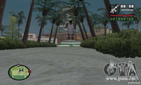 Paradise Beach pour GTA San Andreas quatrième écran