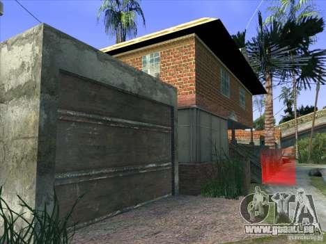 Grove Street Retextured pour GTA San Andreas septième écran