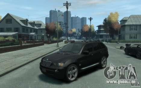 BMW X5 (E53f) 2004 pour GTA 4