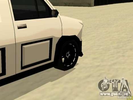 Burrito by W1nstoN pour GTA San Andreas vue arrière