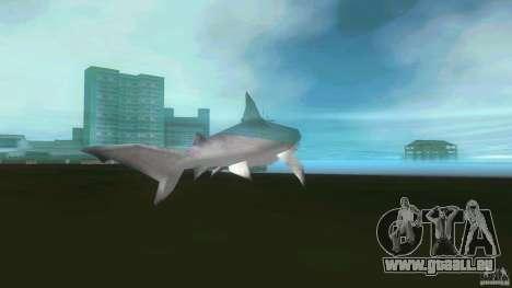 Shark Boat pour une vue GTA Vice City de la droite