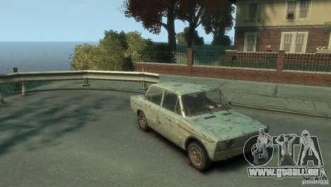 VAZ 2103-Rusty v1. 0 für GTA 4 rechte Ansicht