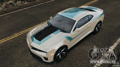 Chevrolet Camaro ZL1 2012 v1.2 pour GTA 4 roues