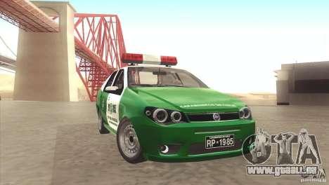 Fiat Siena Carabineros De Chile pour GTA San Andreas
