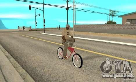Classic Bike für GTA San Andreas rechten Ansicht