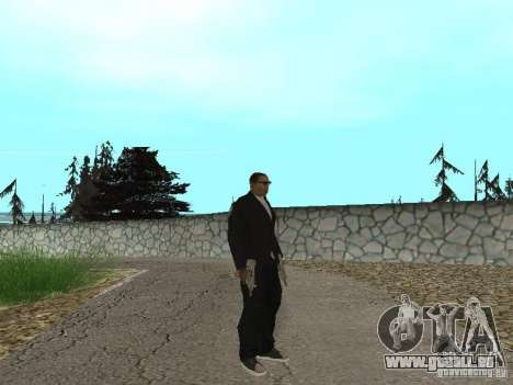 CJ Mafia Skin pour GTA San Andreas deuxième écran