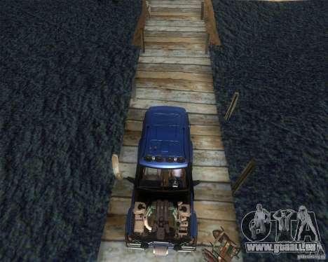 Landrover Discovery 2 Rally Raid pour GTA San Andreas vue de droite