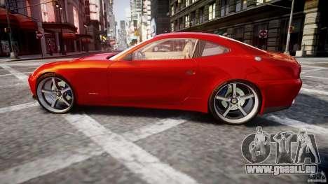Ferrari 612 Scaglietti custom für GTA 4 linke Ansicht