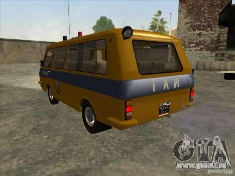 RAPH SAI 22033 pour GTA San Andreas sur la vue arrière gauche
