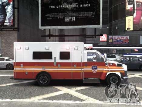 GMC C4500 Ambulance [ELS] für GTA 4 rechte Ansicht