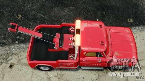 Chevrolet C20 Towtruck 1966 für GTA 4 rechte Ansicht