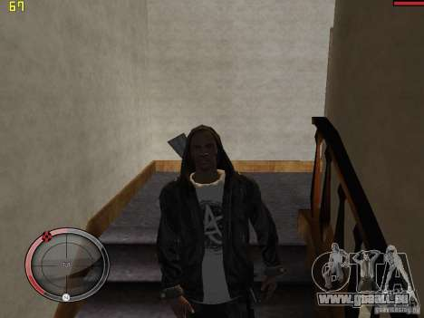 Walk style pour GTA San Andreas cinquième écran
