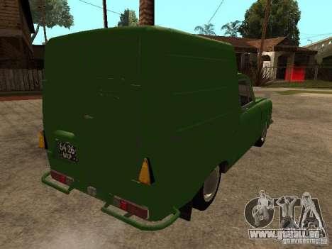 Première version IZH 2715 pour GTA San Andreas vue de droite