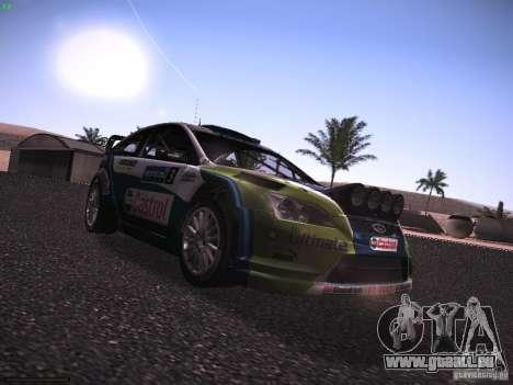 Ford Focus RS WRC 2006 für GTA San Andreas rechten Ansicht