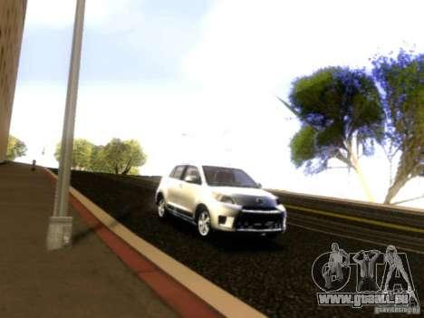 Scion xD pour GTA San Andreas vue de côté