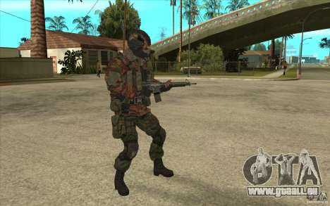 Special Forces-Flag für GTA San Andreas zweiten Screenshot
