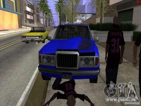Couleurs plus vives pour les voitures pour GTA San Andreas cinquième écran
