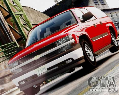 Chevrolet Suburban 2006 V1.1 CIVIL pour GTA 4