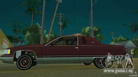 Cadillac Fleetwood 1993 für GTA San Andreas linke Ansicht