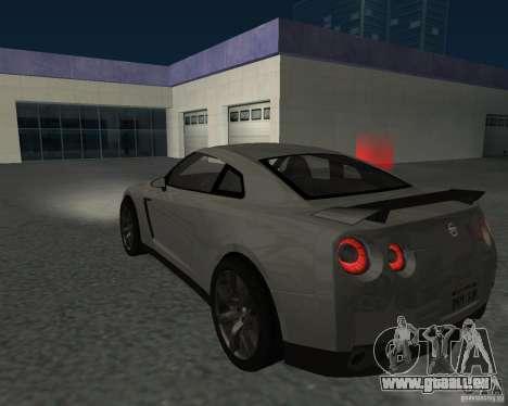 Nissan GT-R Pronto pour GTA San Andreas laissé vue