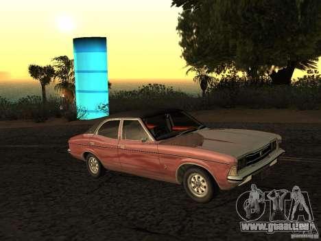 Ford Cortina MK 3 2000E pour GTA San Andreas