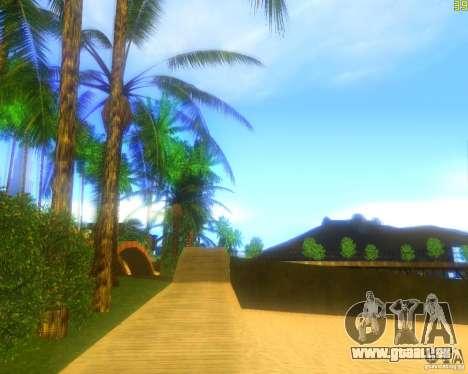 Modification graphique globale pour GTA San Andreas quatrième écran