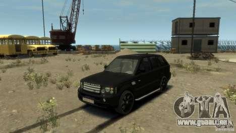Land Rover Range Rover Sport pour GTA 4 Vue arrière de la gauche