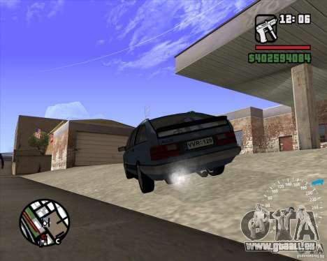 Audi 100 Avant pour GTA San Andreas sur la vue arrière gauche