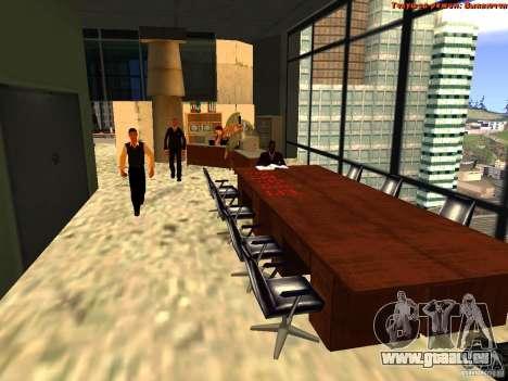 20th floor Mod V2 (Real Office) für GTA San Andreas sechsten Screenshot