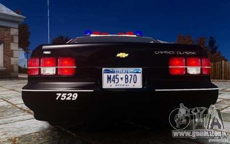 Chevrolet Caprice 1991 Police pour GTA 4 est un droit
