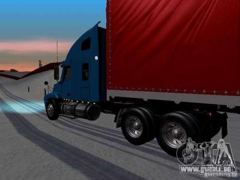 Freightliner Century pour GTA San Andreas laissé vue
