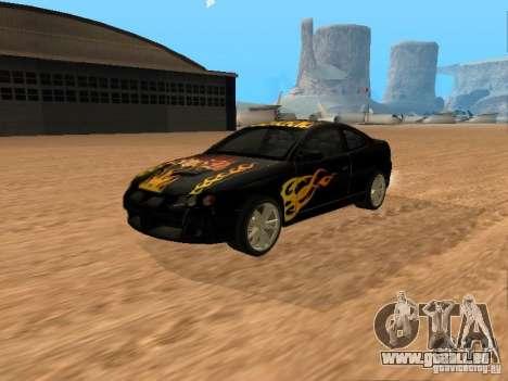 Vauxhall Monaro für GTA San Andreas Innenansicht