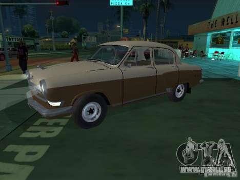 GAZ M21T Taxi pour GTA San Andreas laissé vue