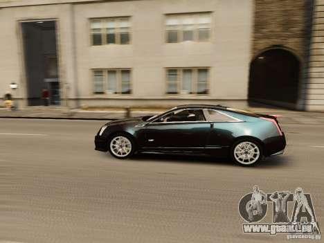 Cadillac CTS-V Coupe 2011 für GTA 4 Innenansicht