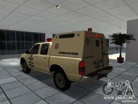 Nissan Terrano LARC pour GTA San Andreas laissé vue