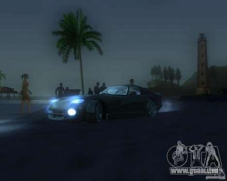 Globale grafische Änderung für GTA San Andreas achten Screenshot