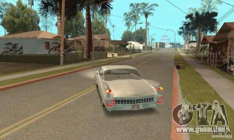 Cadillac 1959 pour GTA San Andreas laissé vue