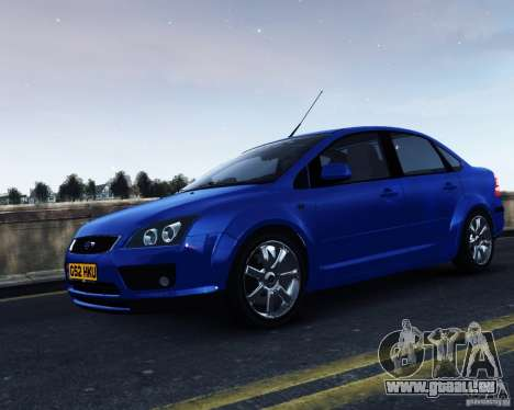 Ford Focus 2008 pour GTA 4