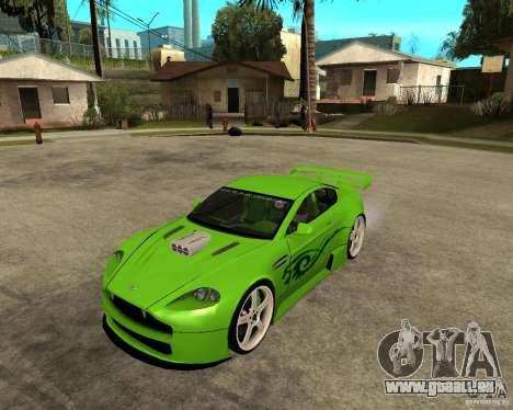 Aston Martin Vantage V8 - Green SHARK TUNING! pour GTA San Andreas