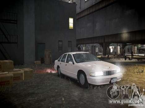 Chevrolet Caprice 1993 Rims 1 für GTA 4 Seitenansicht